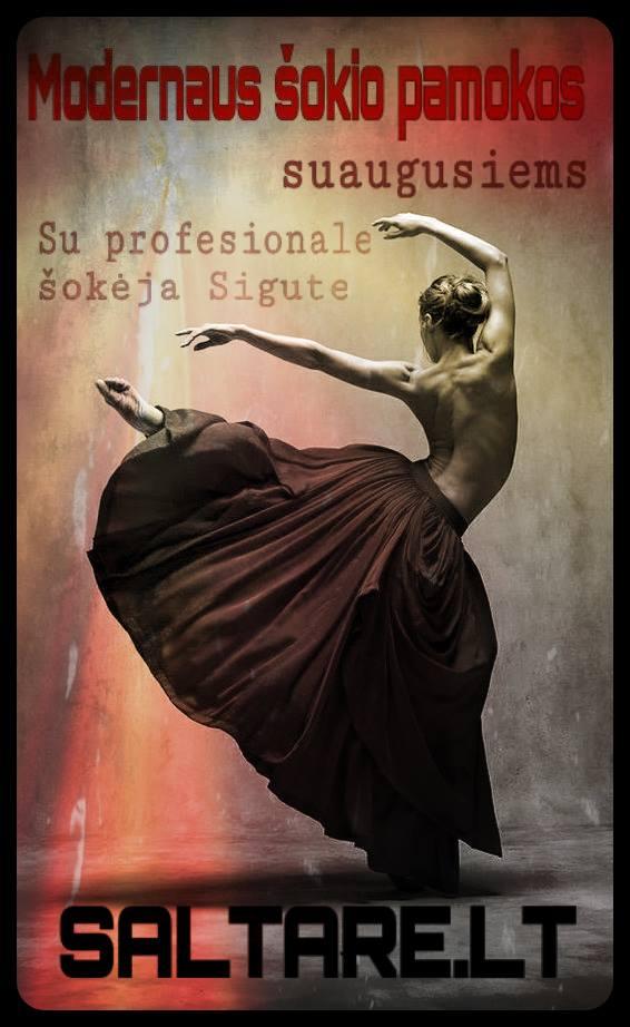 Modernaus šokio pamokos