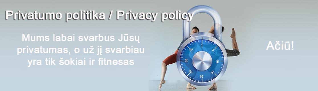 privatumo politika privacy policy