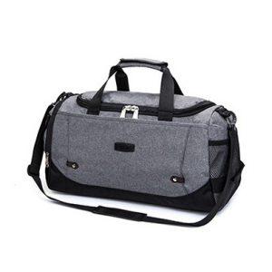 Klasikinio stiliaus sportinis krepšys
